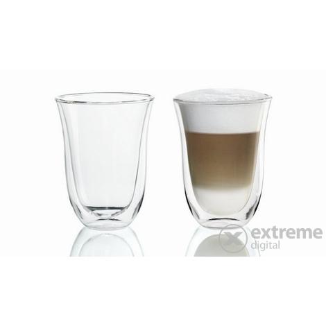 pahare delonghi latte macchiato 2 buc 220 ml extreme digital. Black Bedroom Furniture Sets. Home Design Ideas