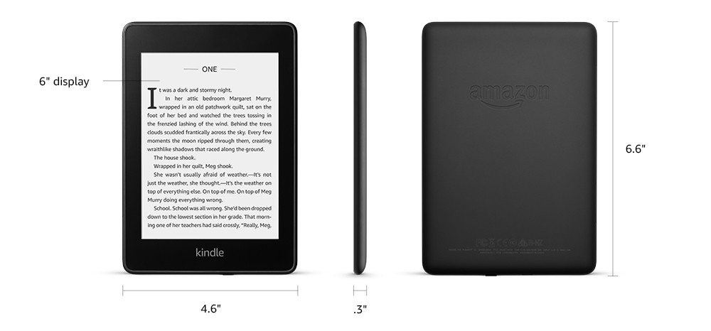 Amazon Kindle Paperwhite IV 32 GB ebook olvasó, fekete_5