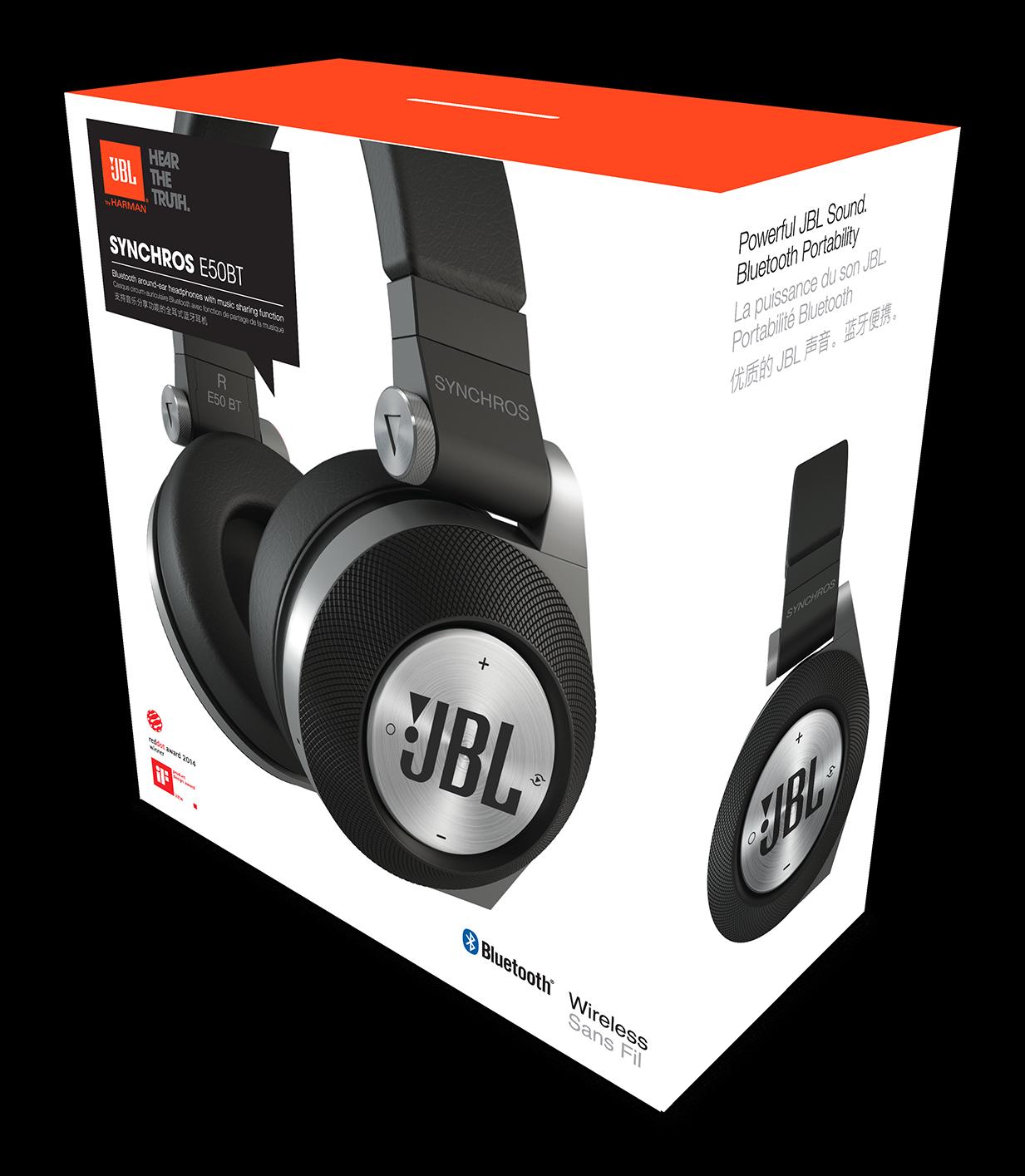 JBL E50 BT Bluetooth fejhallgató b278f02e71