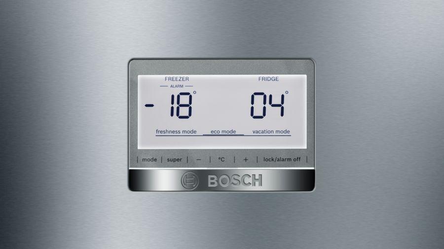 Bosch KGN49AIEP Serie6 samostoječi hladilnik z zamrzovalnikom, nerjaveče jeklo_1