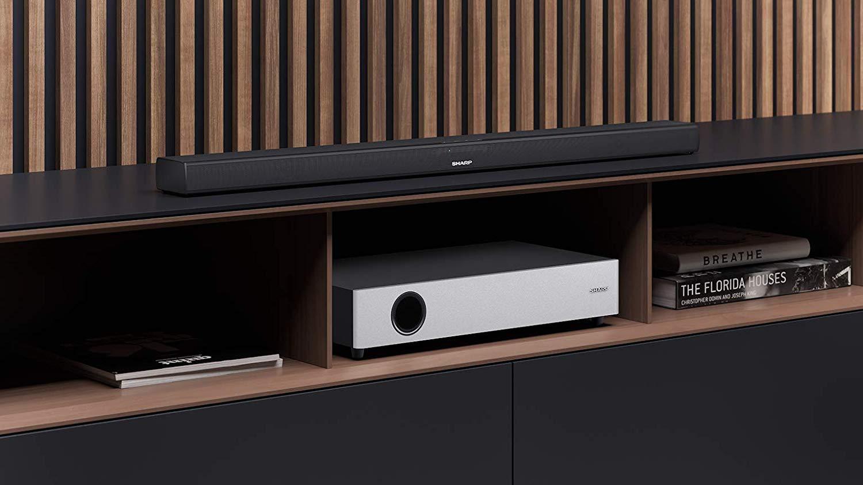 Sharp HT SBW160 soundbar, Bluetooth hangfal 2.1, fekete