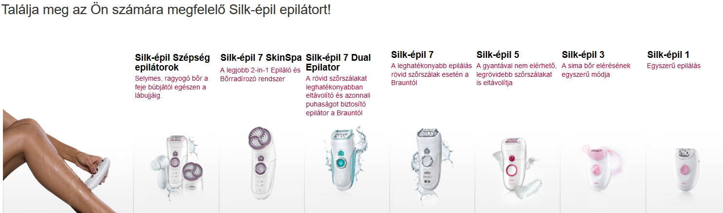 Braun Silk-épil7 SE 7175 epilátor pome -  Újracsomagolt   1156fa6410