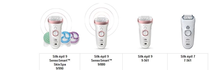 Braun SES 9 880 Silk-épil 9 SensoSmart epilátor  16eb708758