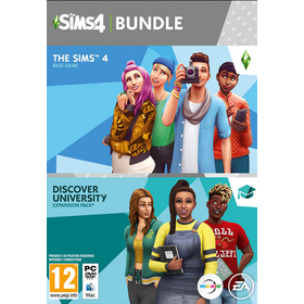 The Sims 4 Discover University Bundle PC