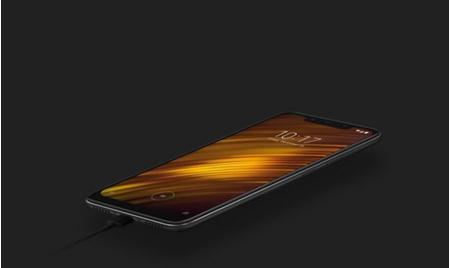 Xiaomi Pocophone F1 6GB/64GB Dual SIM kártyafüggetlen okostelefon, kék 05