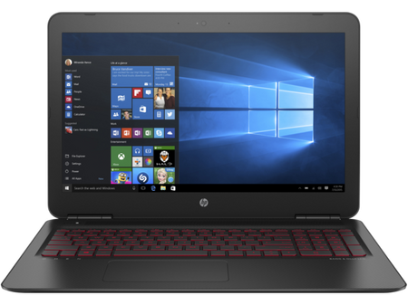 HP Omen 17-W101NH 17,3 notebook, fekete + Windows10