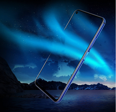 Honor 20 6GB/128GB Dual SIM kártyafüggetlen okostelefon, Zafírkék (Android) 02