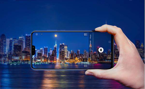 Honor 8X 4GB/128GB Dual SIM kártyafüggetlen okostelefon, fekete (Android) 11