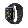 Apple Watch Series 4 GPS, 40mm, asztroszürke aluminium tok feket sportszíjjal