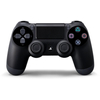 PlayStation 4 (PS4) Dualshock 4 V2 Wireless (Bežični) Controller, crni + Fortnite stalak
