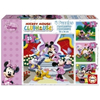Educa Disney Minnie Mouse and Friends puzzle, 4 in 1