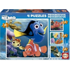 Educa Disney Nemo puzzle, 4 in 1