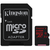 Kingston microSDXC kártya 64GB Class3 UHS-I (U3)