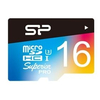 Silicon Power microSD 16GB Superior UHS-1 U3 color memóriakártya