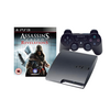 Sony PS3 Slim 160GB + Dual shock kontroller + Assasin's Creed Revelation software