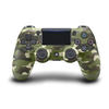 PlayStation 4 (PS4) Dualshock 4 V2 Wireless Controller, black, green