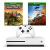 Microsoft Xbox One S 1TB konzol + Forza Horizon 4 játékszoftver + Minecraft Master Collection