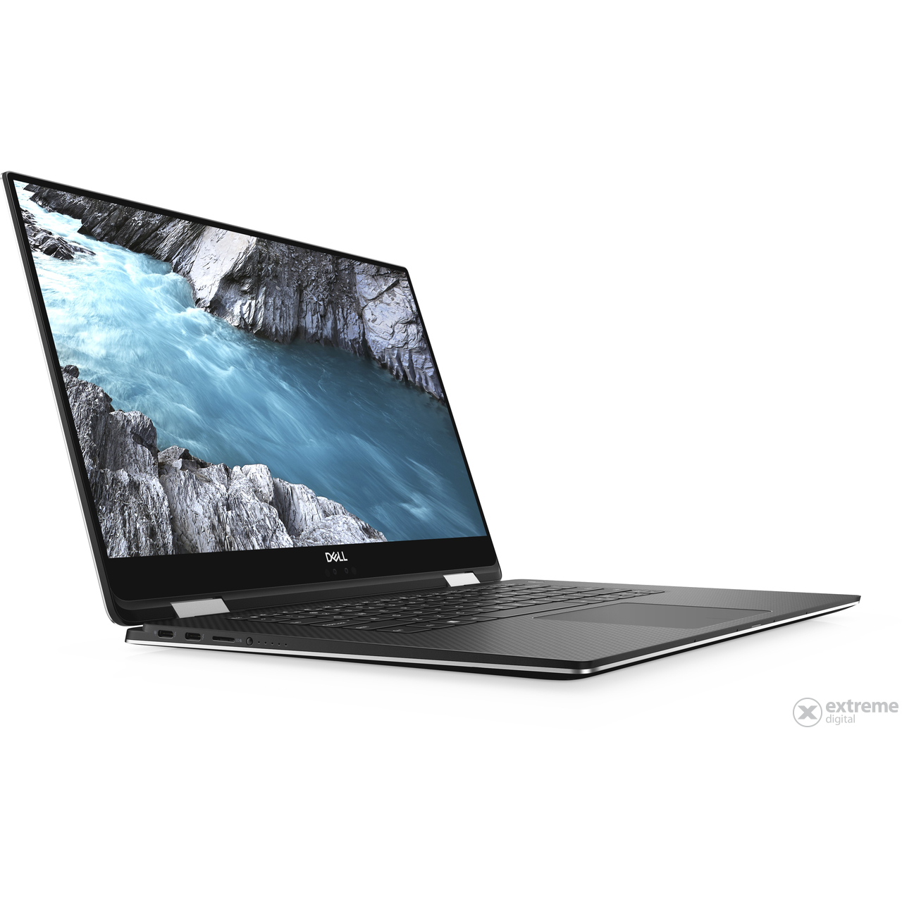Dell Xps 15 2in1 DLL_XPS152IN1_251849 notebook, ezüst + Windows 10 Home