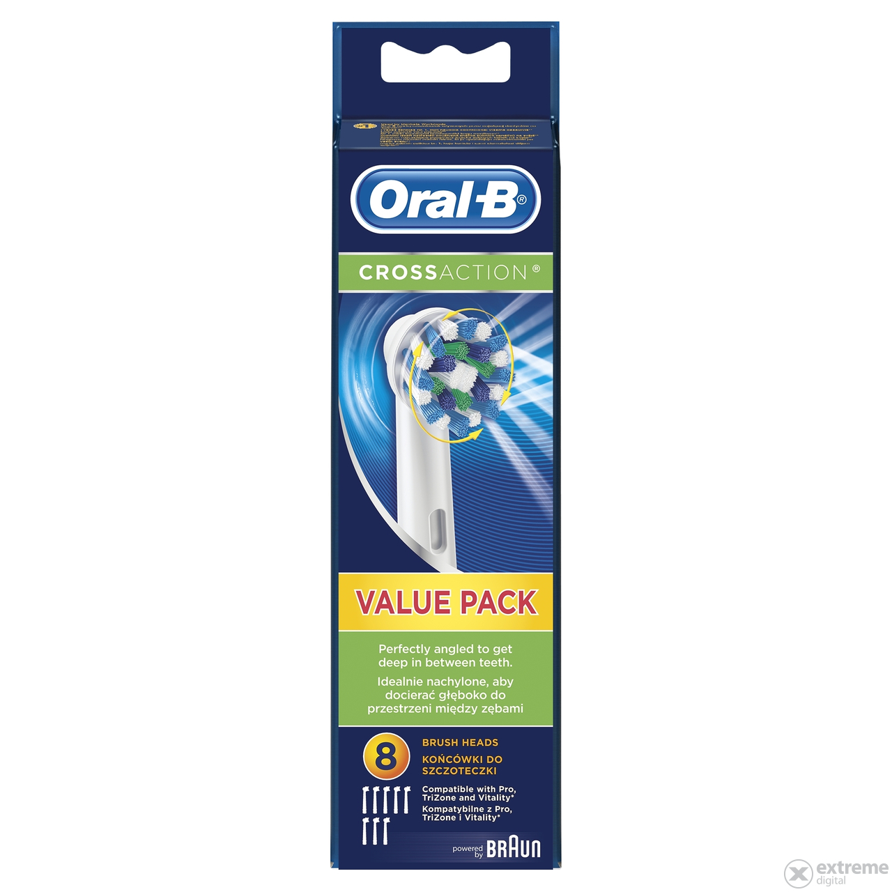 Oral-B EB 50-8 Cross Action pótfej, 8db
