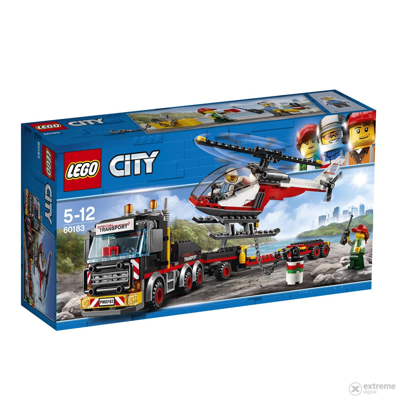 Lego city 60183 extreme digital - Camion de police lego city ...