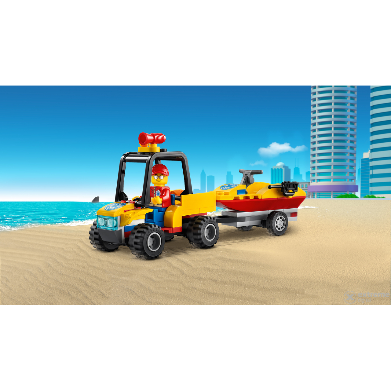 LEGO®  City Great Vehicles 60286 ATV za spašavanje na plaži