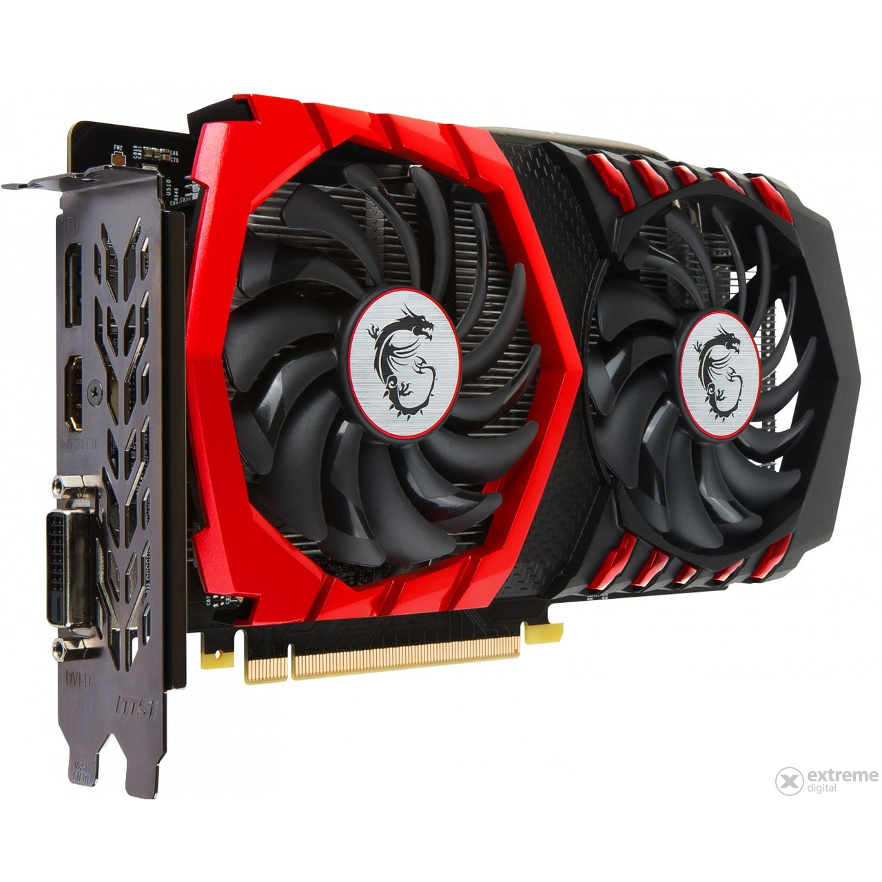 how to connect msi gforce 1050 ti