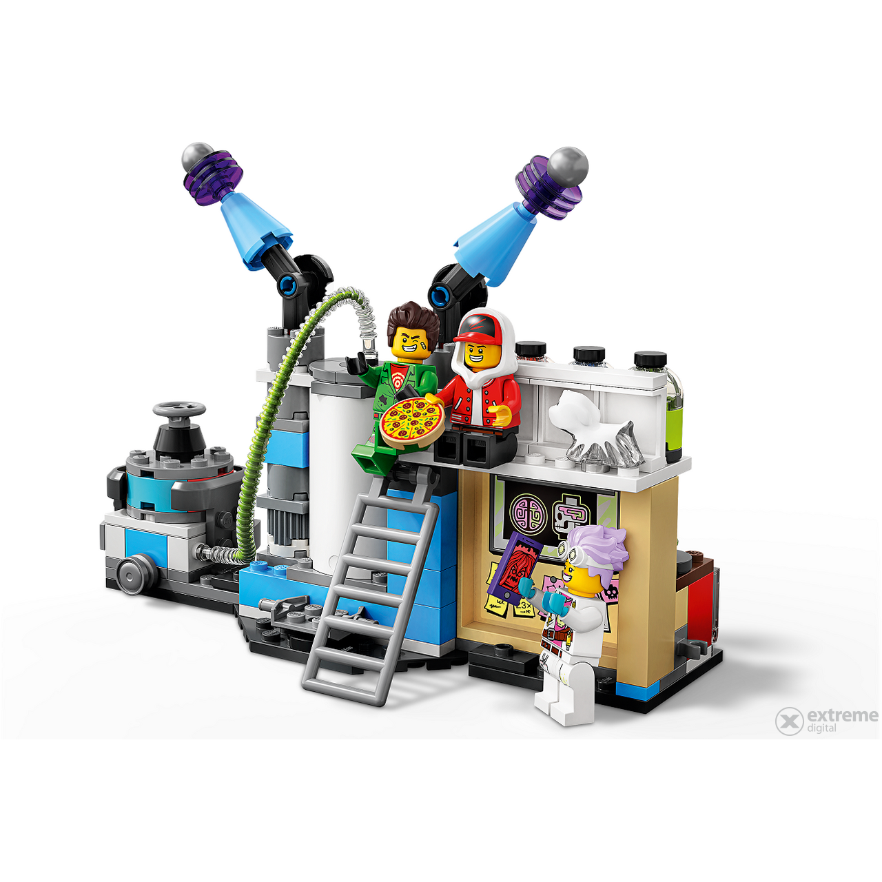 LEGO® Hidden Side 70418 J.B.-ov laboratorij duhova