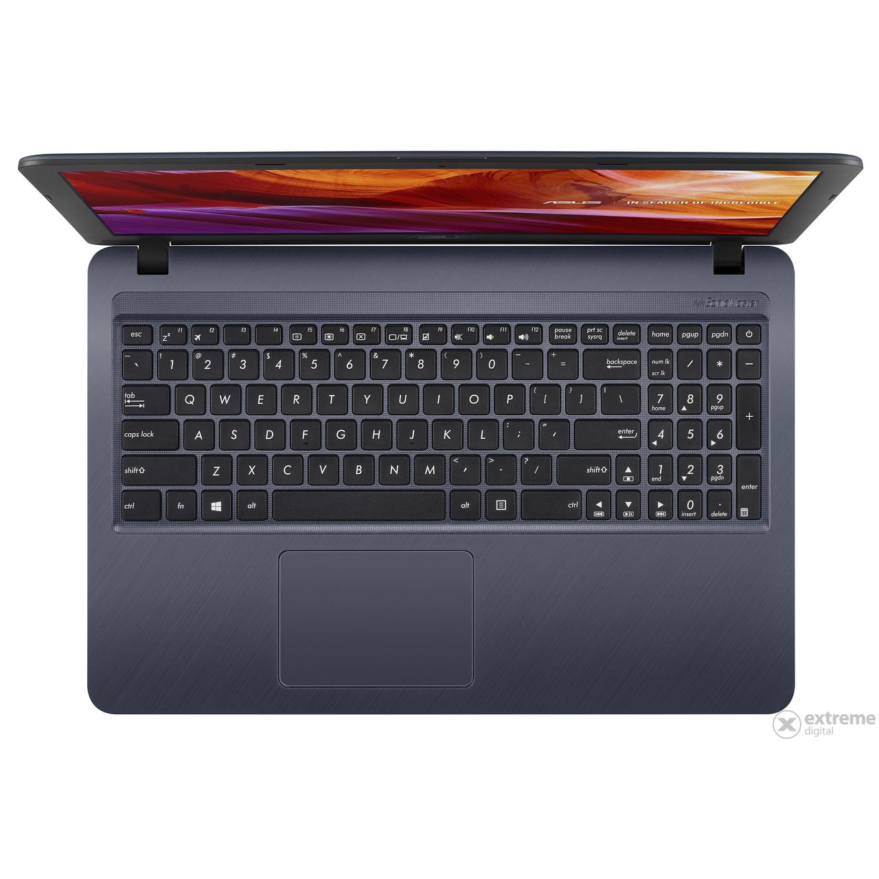 d586dcd70c43 Asus VivoBook X543UA-GQ1708TC notebook, sötétszürke   Extreme Digital