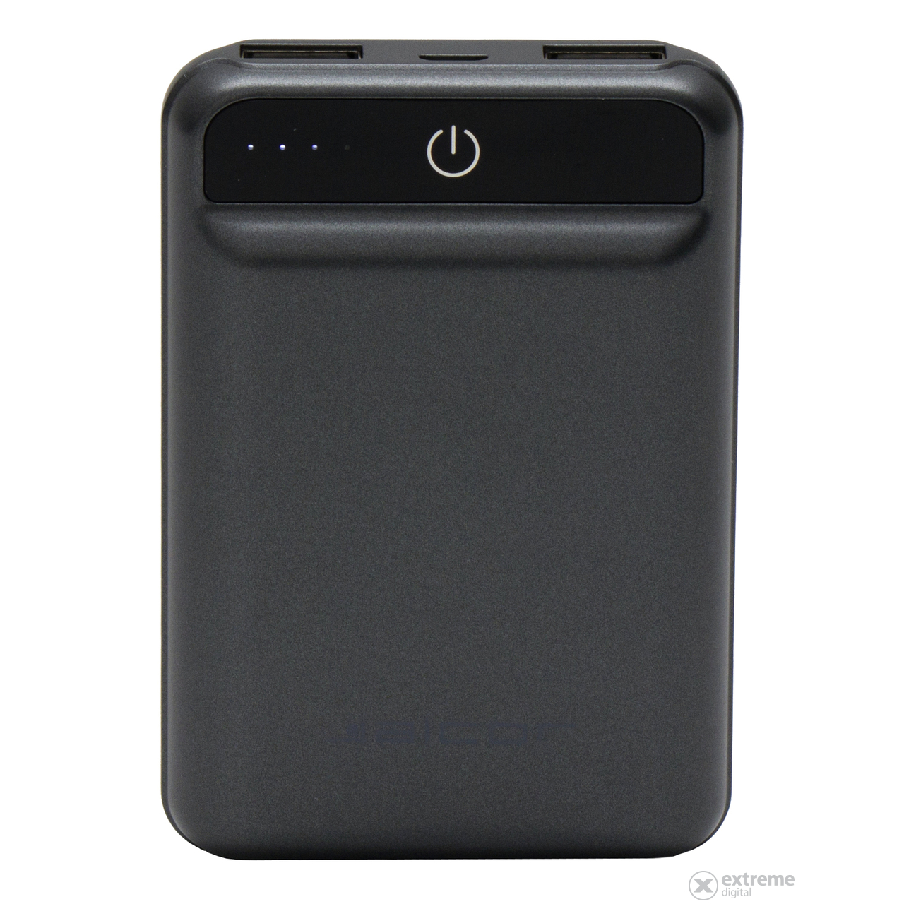 Alcor M10000 powerbank, 10000mAh, sivi