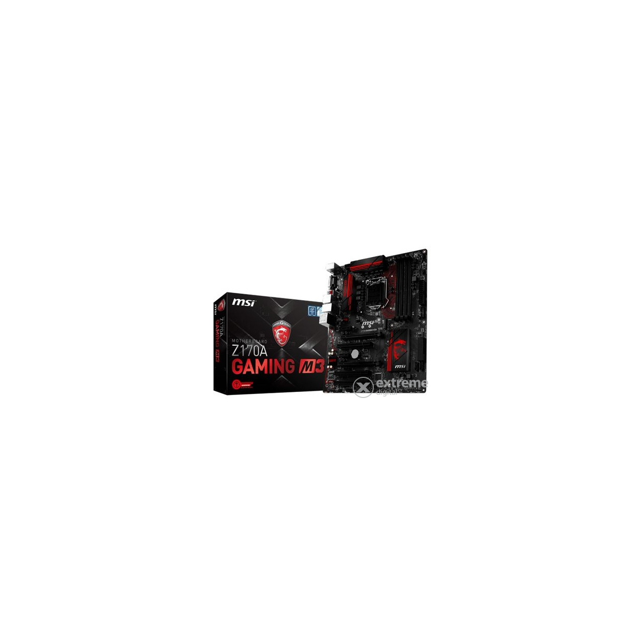 MSI Z170A Gaming M3  S1151 ATX alaplap