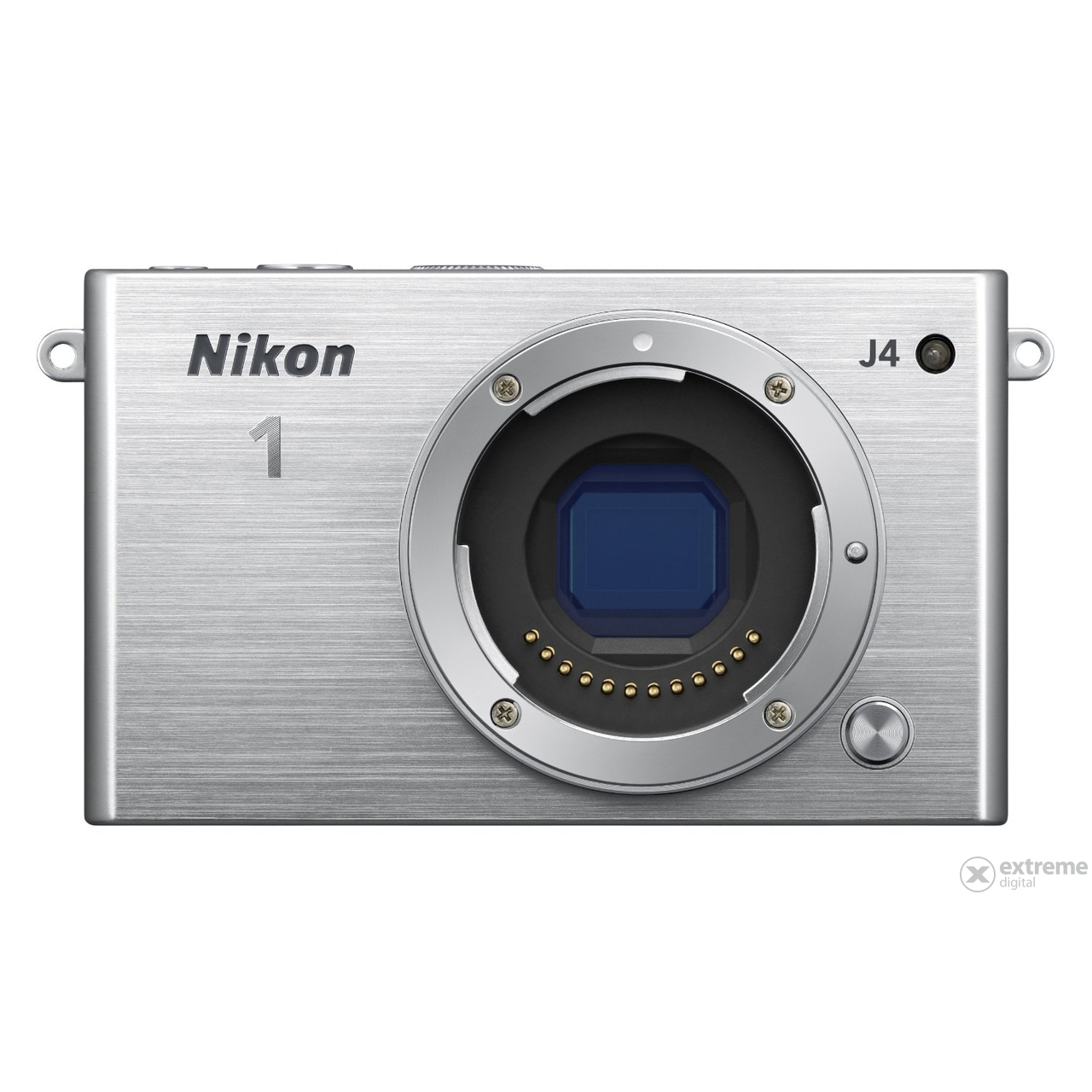 Nikon 1 J4 set za digitalni fotoaparat (10-30mm PD Zoom objektiv), srebrni