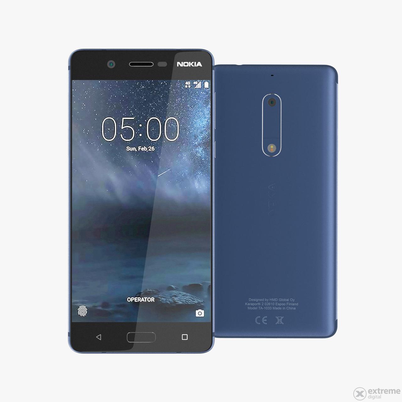 Nokia 5 Dual SIM pametni telefon, Blue (Android) | Extreme ...