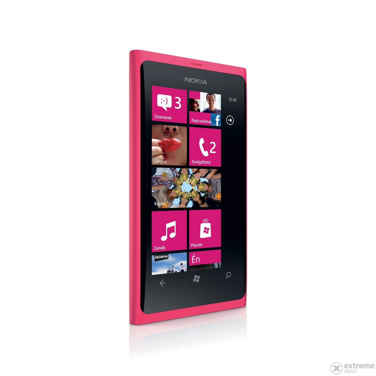 Nokia Lumia 800 kártyafüggetlen okostelefon, Magenta ...