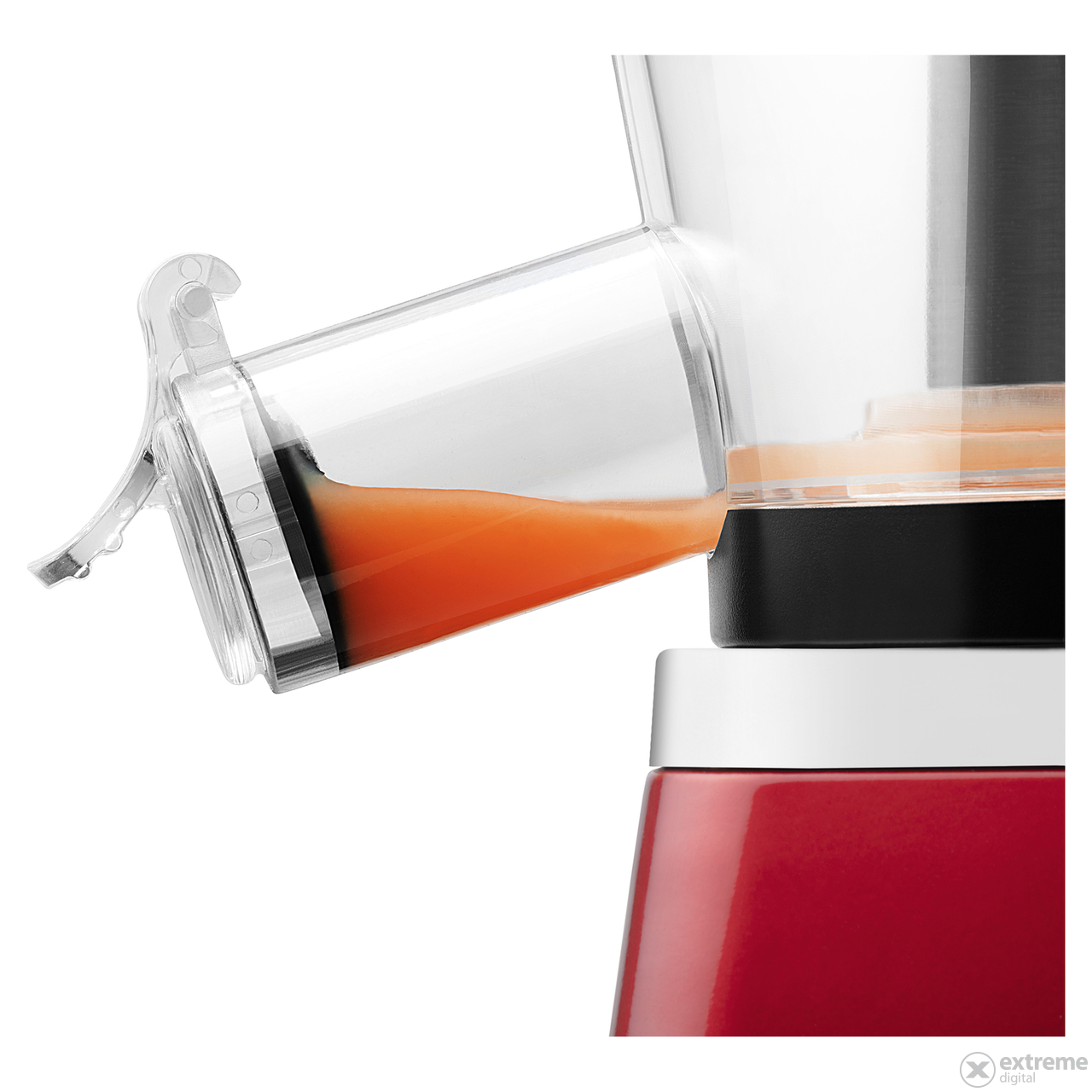 Sencor SSJ 4042RD Slow juicer gyumolcsprEs, piros ...