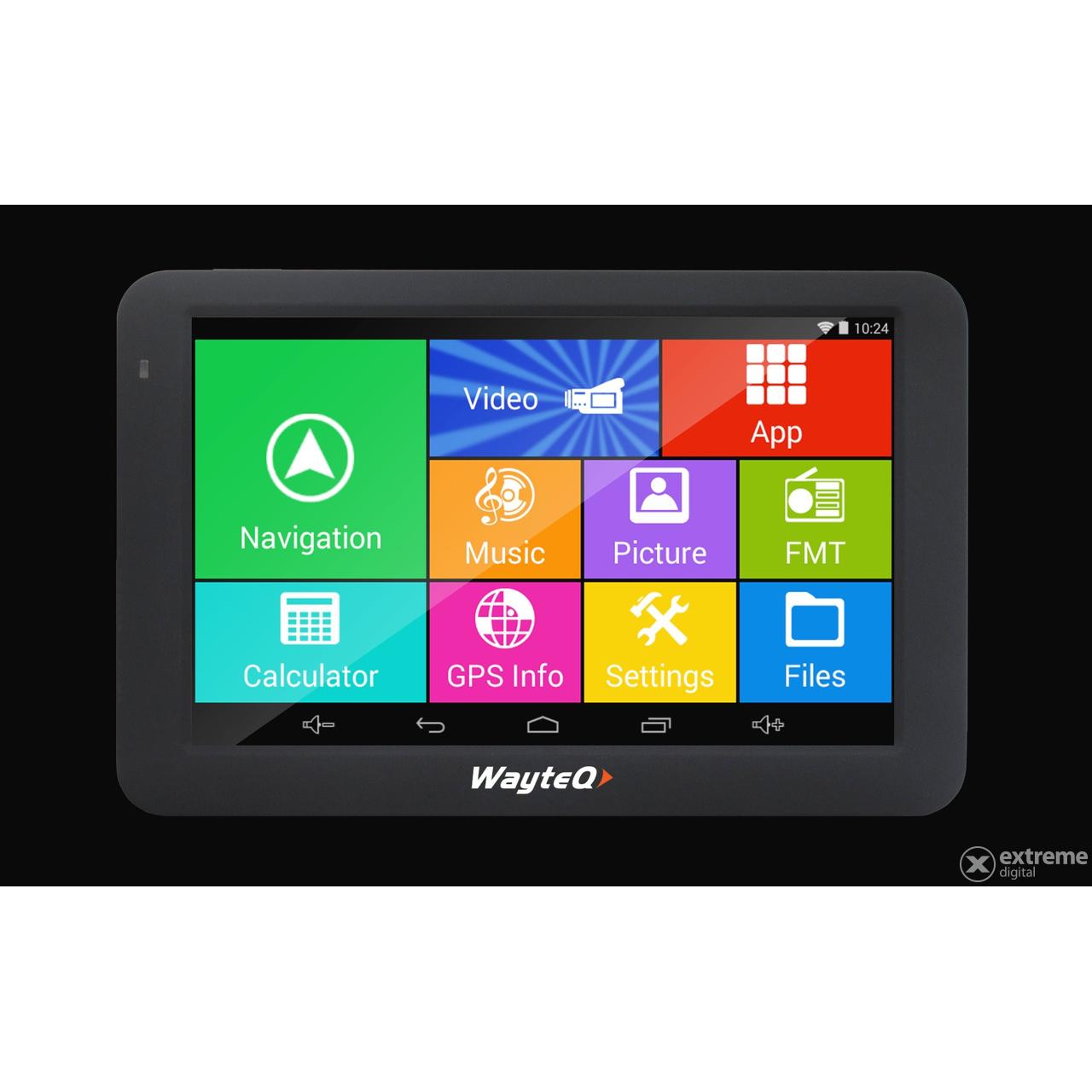 """WayteQ X995 Android 5"""" GPS navigáció készülék (navigációs ..."""