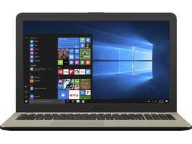 Notebook Asus VivoBook X540MA-GQ157T, negru ciocolatiu + Windows 10 (tastatura layout HU)