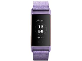 Fitbit Charge 3 Special Edition фитнес гривна, levendula