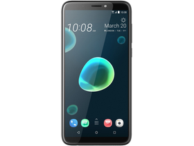 Telefon HTC Desire 12 Plus Dual SIM, Cool Black (Android)