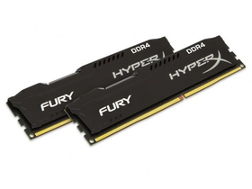 Kingston HyperX FURY Black 16GB DDR4 memorija kit (HX424C15FB2K2/16)