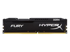 Kingston HyperX FURY Black 4GB DDR4 memória modul (HX424C15FB/4)