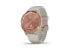 Garmin vívomove 3S fitness smart hodinky, White/Rose Gold