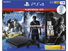 PlayStation® PS4 Slim 1TB HITS V2 Bundle konzola