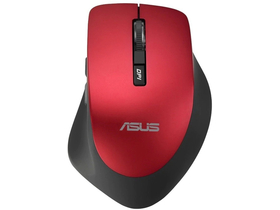Asus WT425 USB Maus, kabellos, rot