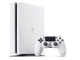 Consola PlayStation® PS4 Slim 500GB, alb