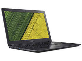 Acer Aspire A315-41-R5H9 notebook, fekete