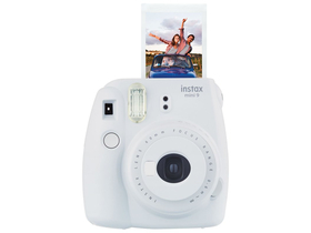 Aparat foto analog Fujifilm Instax Mini 9, smoky white