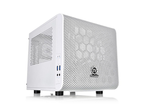 Thermaltake Core V1 Snow Edition Mini-ITX PC skrinka, biela