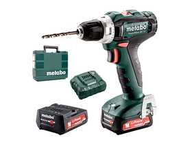 Metabo PowerMaxx BS12 akkus fúró-csavarozó 2x2,0Ah Li-Power kofferben (601036500)