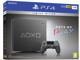 PlayStation® PS4 Slim 1TB Days of Play Limited Edition játékkonzol