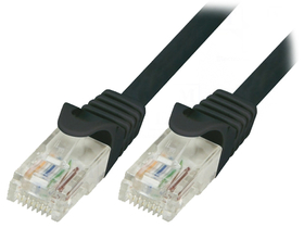 Wiretek Cat.5E UTP Patch kabel, 5m (crna)
